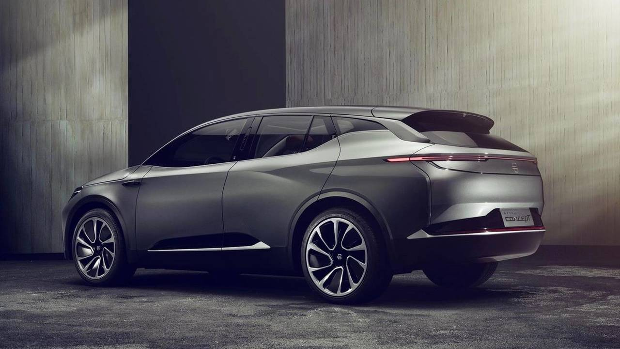 Byton Concept electric crossover