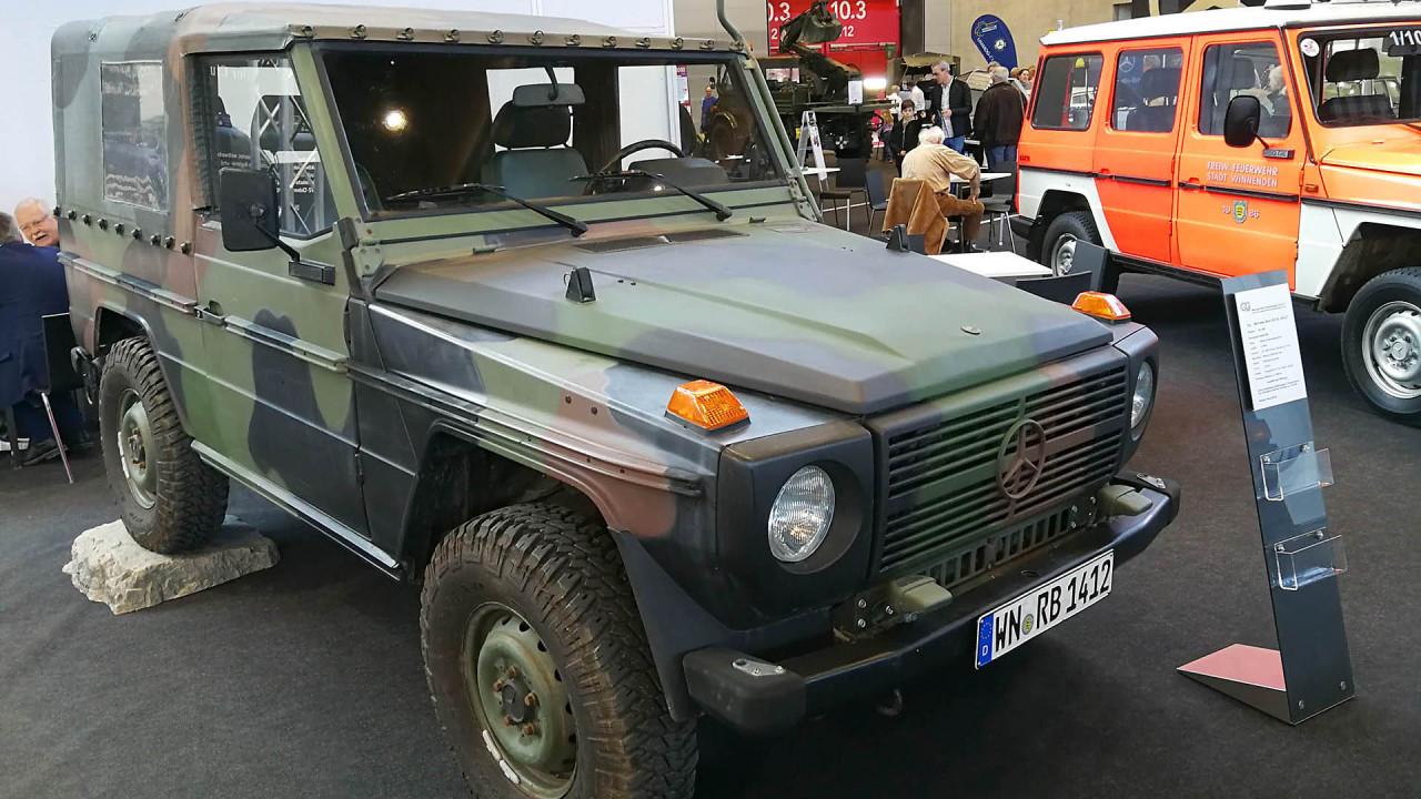 Retro Classics 2018: Der Kommiss-Kraftwagen