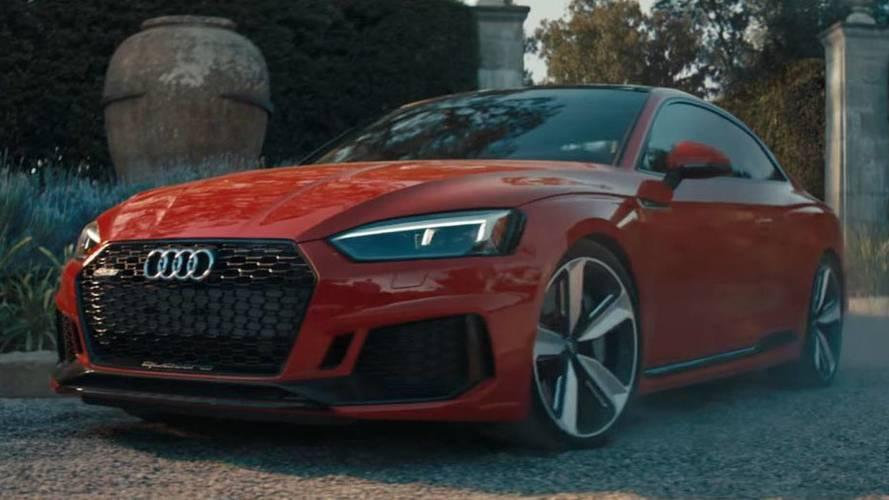 2018 Audi RS5 Coupe'ye muhteşem reklam