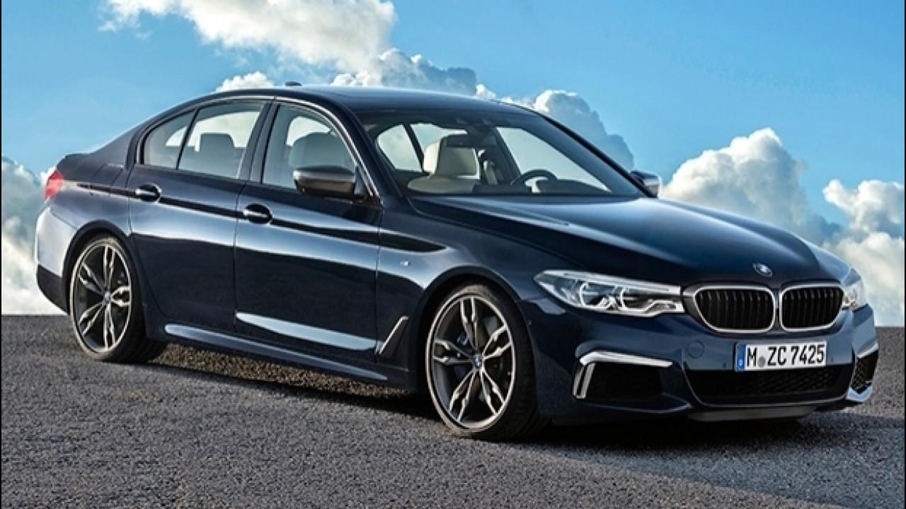 [Copertina] - BMW M550i xDrive, quasi una M5 a trazione integrale