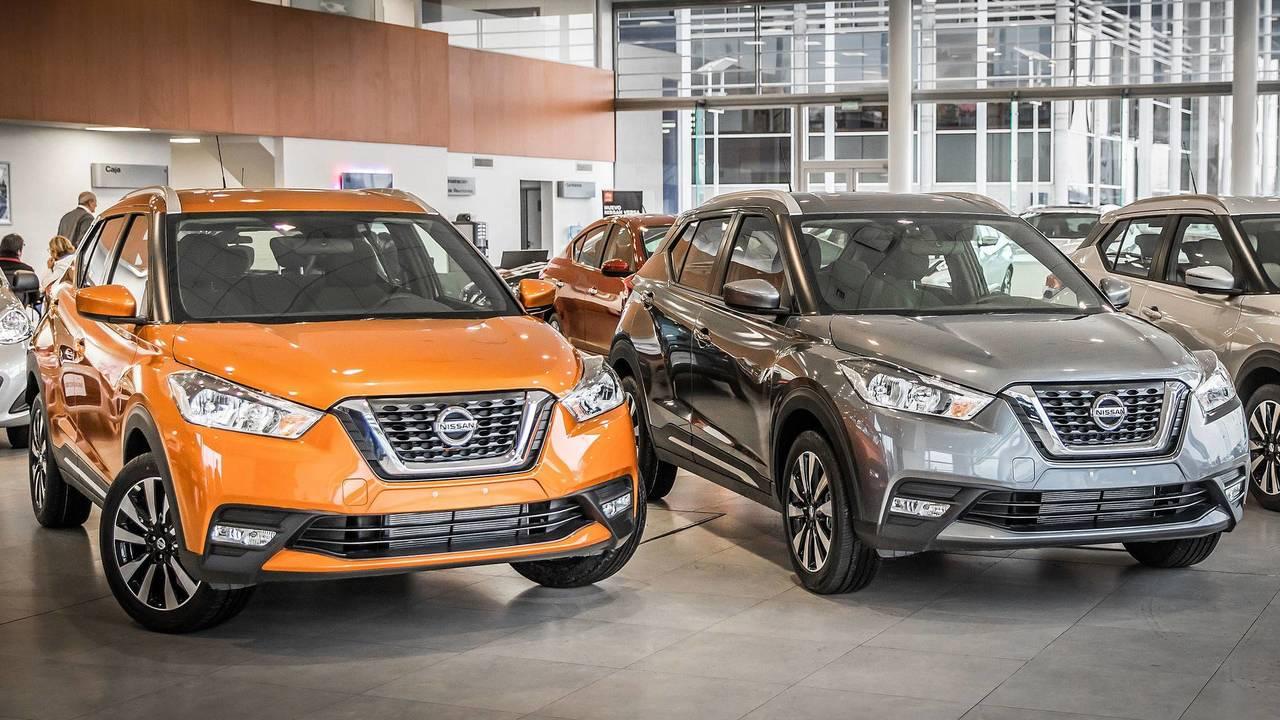 Nissan Kicks 2018 na concessionária