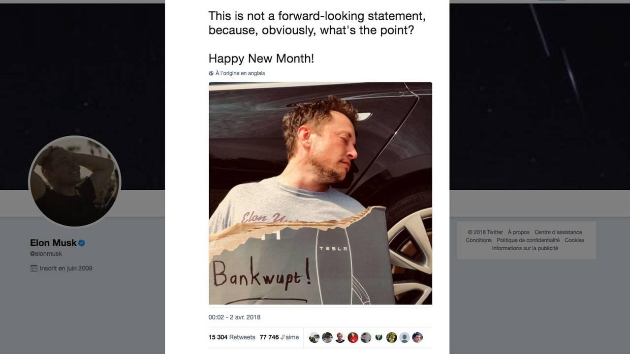 Tesla declara la bancarrota