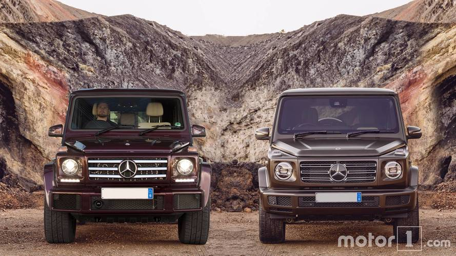 Side-by-side – see the changes on the new 2018 G-Class