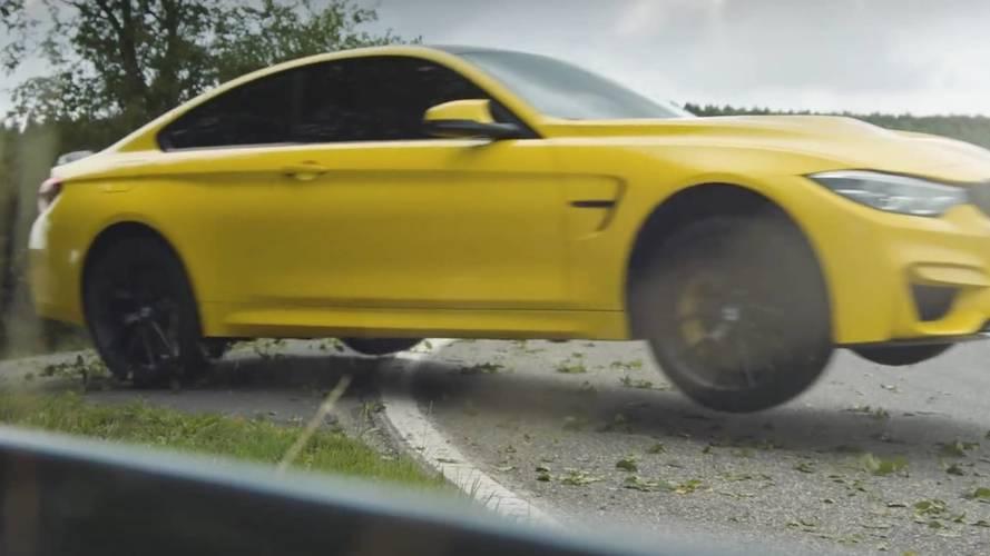 Így kell igazi úrként elhagyni a Nürburgringet egy BMW M4 CS-vel