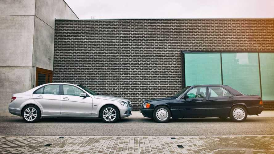 Die Geschichte der Mercedes C-Klasse seit 1982
