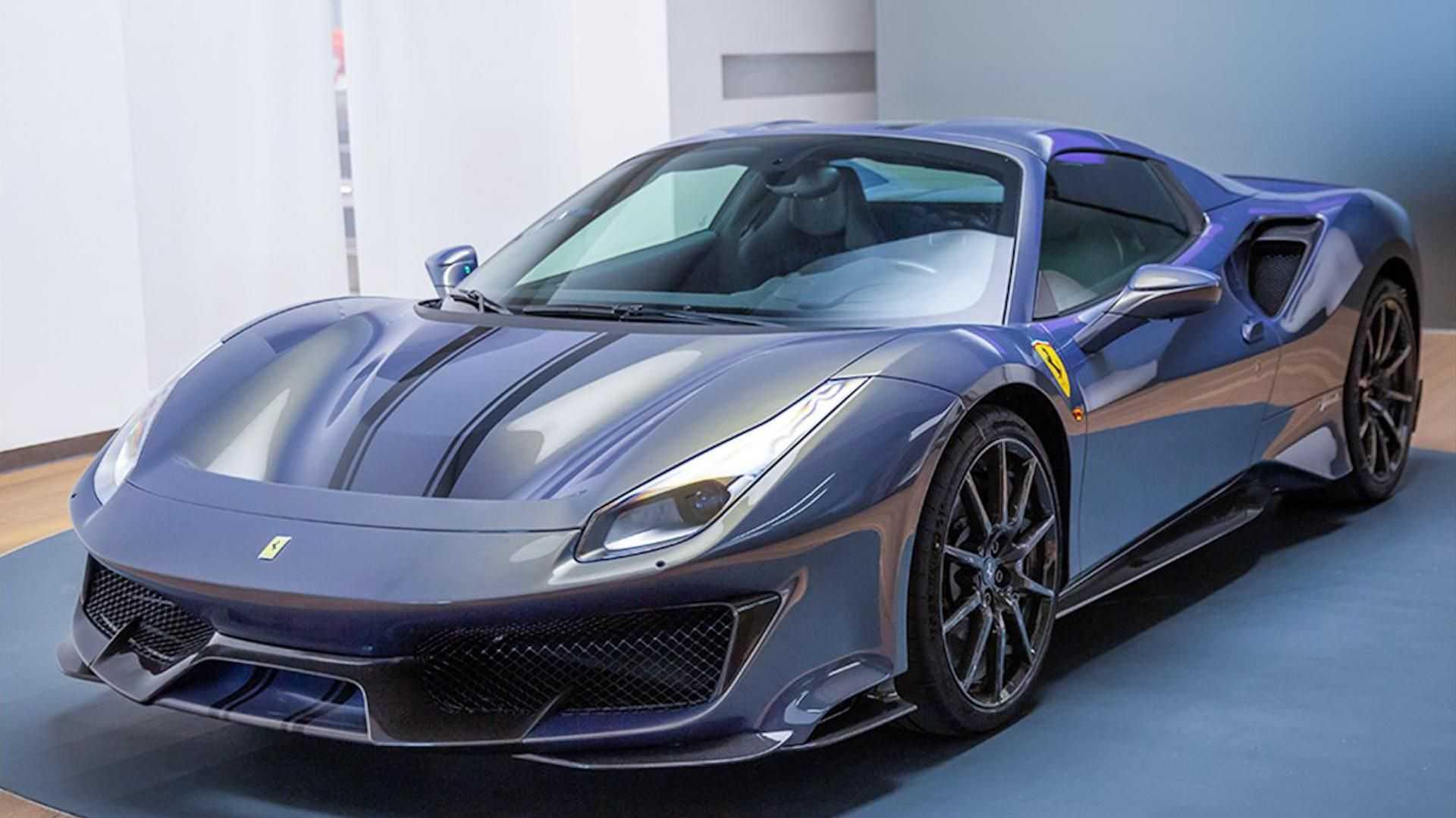 Ferrari Tailor Made раскрывает нетрадиционные характеристики 488 Pista Spider