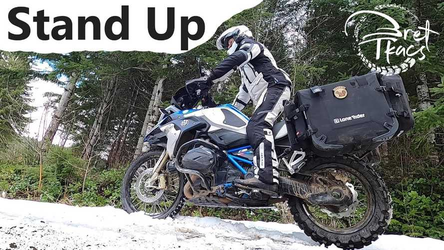 The Dos And Don'ts Of Standing Up On The Pegs In Off-Road Riding
