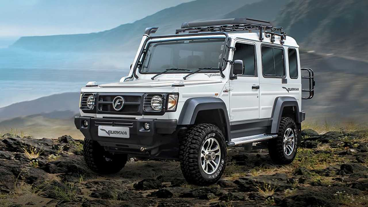 Force Motors Gurkha 2018