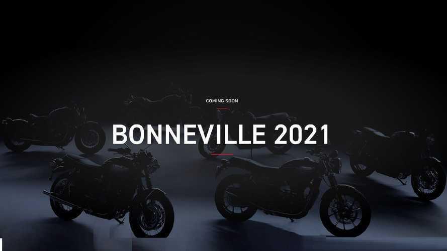Triumph Bonneville, le modern classic 2021 si aggiornano all'Euro 5