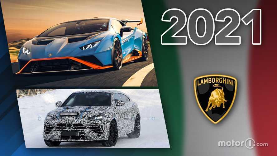 Novità Lamborghini, ecco tutti i modelli in arrivo nel 2021