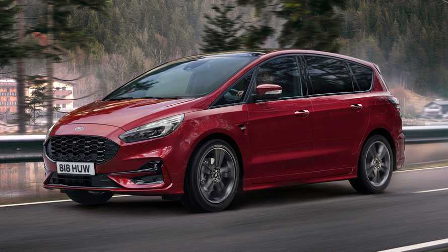 Ford S-Max Hybrid Debuts As Electrified Seven-Seater