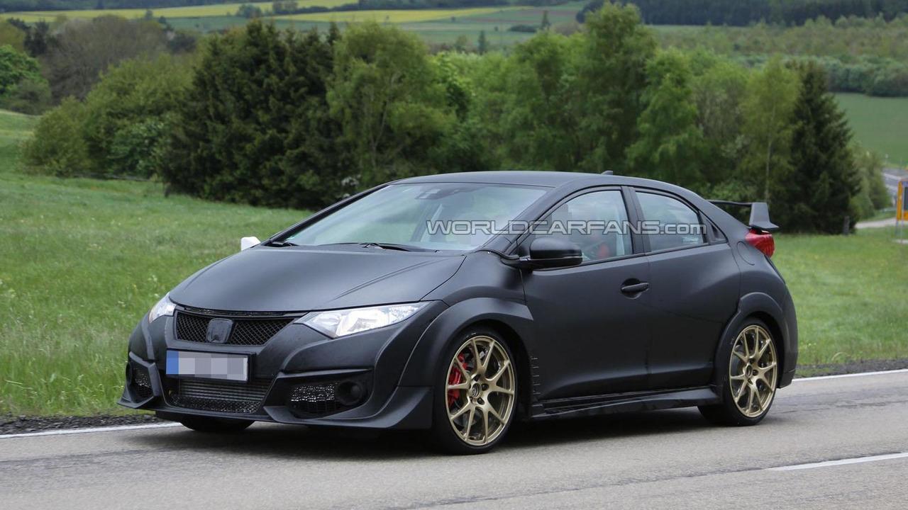 2015 Honda Civic Type-R spy photo