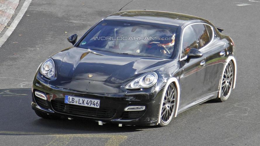Next-gen Porsche Panamera mule spied again