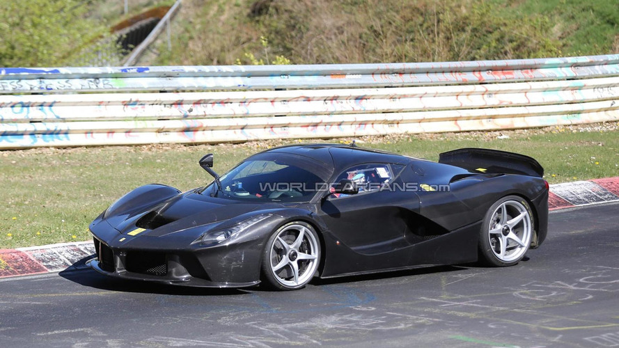 1050 bhp LaFerrari XX comes into focus