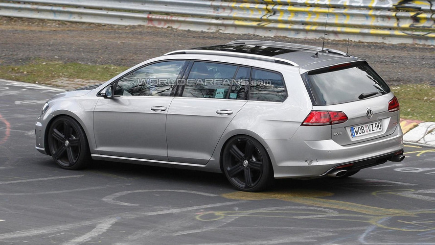Volkswagen Golf R Variant returns in fresh spy shots