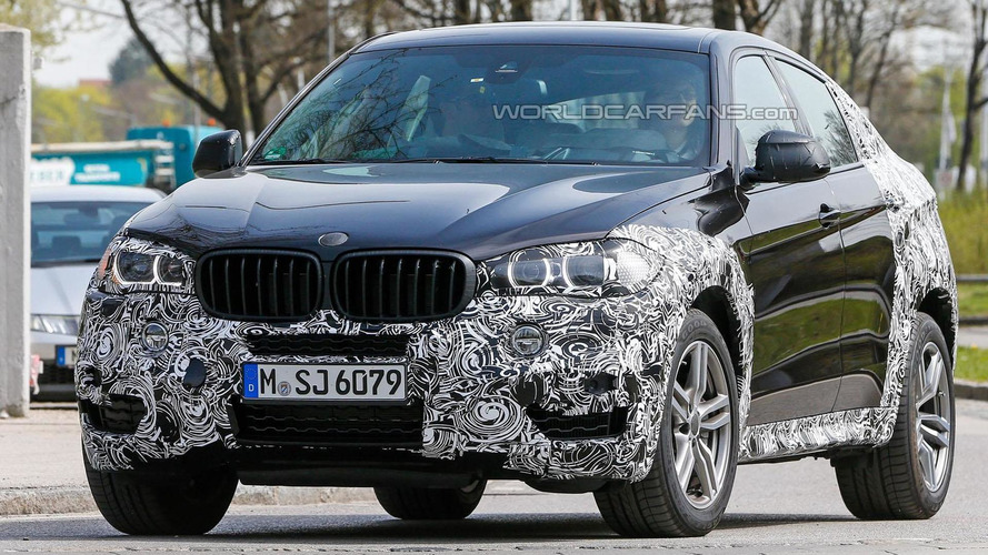 2015 BMW X6 spied near the company's headquarters