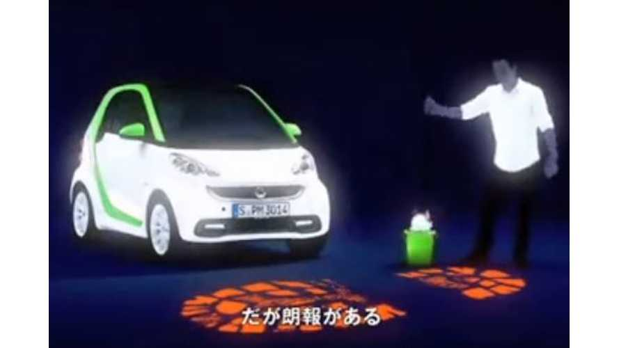 Smart Releases Series Of Fortwo Electric Drive Commercials In Japan