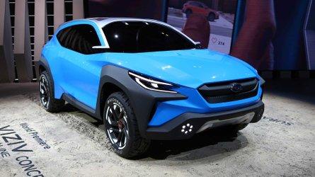 Subaru Viziv Adrenaline Concept adianta nova geração do XV