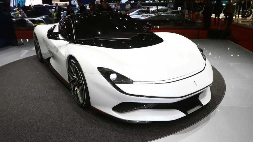 Pininfarina Battista at the 2019 Geneva Motor Show