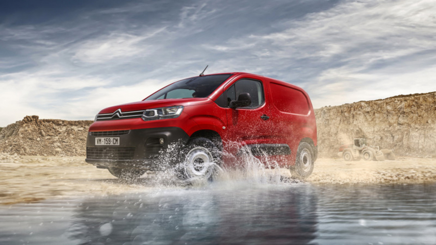 Citroen Berlingo Van Test