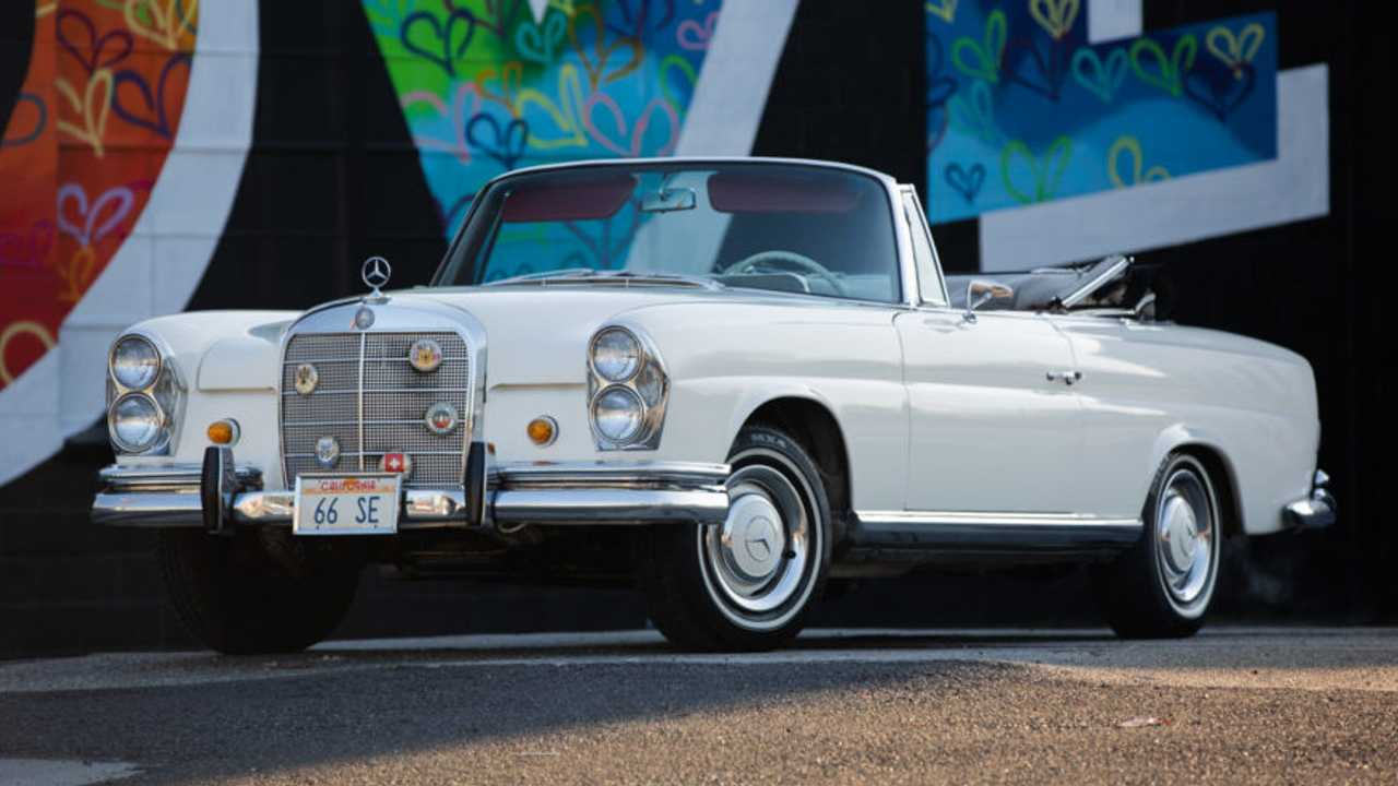 1966 Mercedes-Benz 250SE Cabriolet – current bid at $40,000