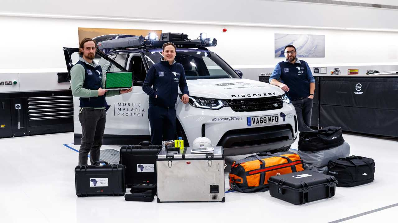Mobile Malaria Project Land Rover Discovery