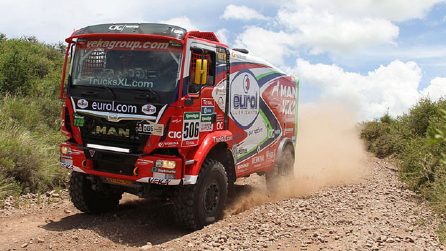 Dakar 2016, MAN guida la classifica dei Camion