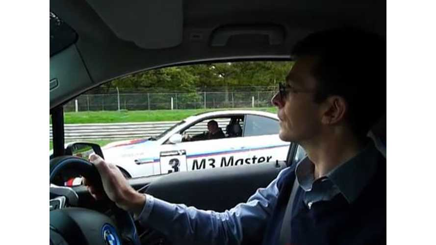 Video: BMW i3 Versus BMW M3 0 to 60 MPH