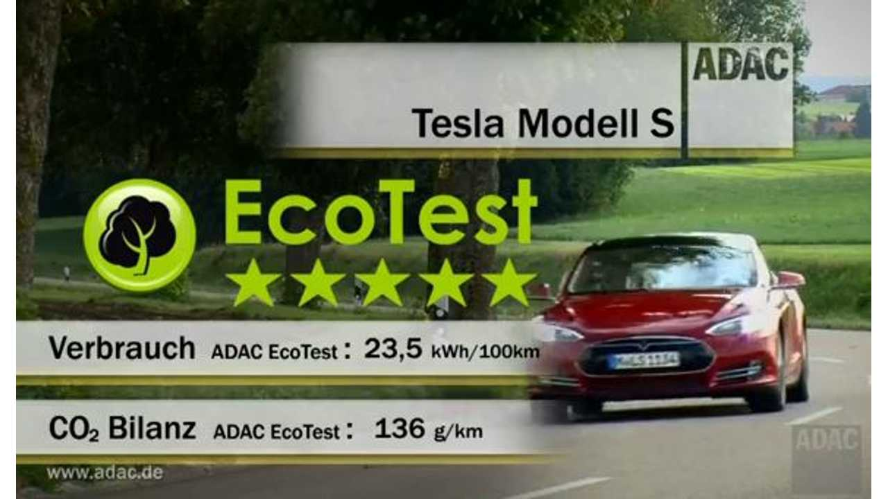 Video: ADAC Posts Test Results on Tesla Model S