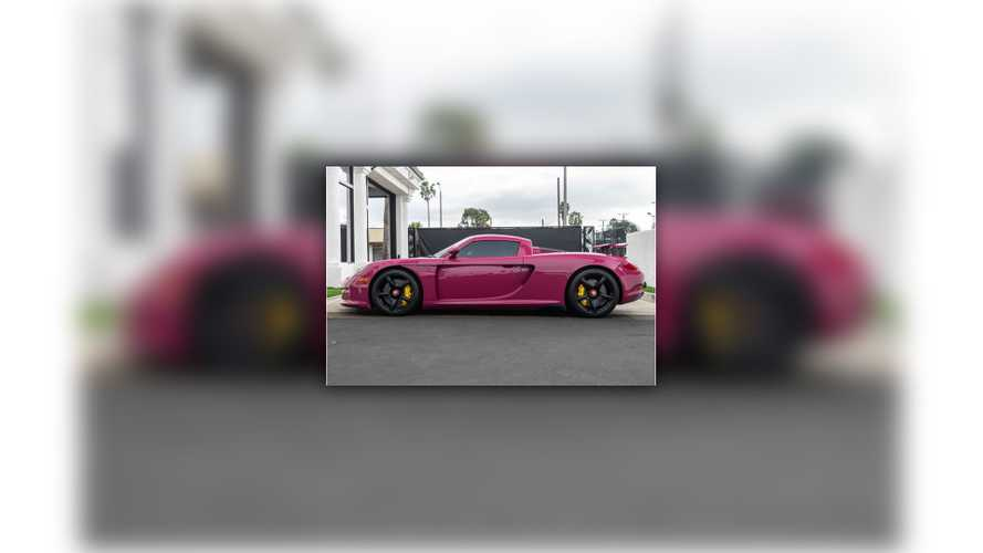 Would You Buy This 'Pink' Porsche Carrera GT?