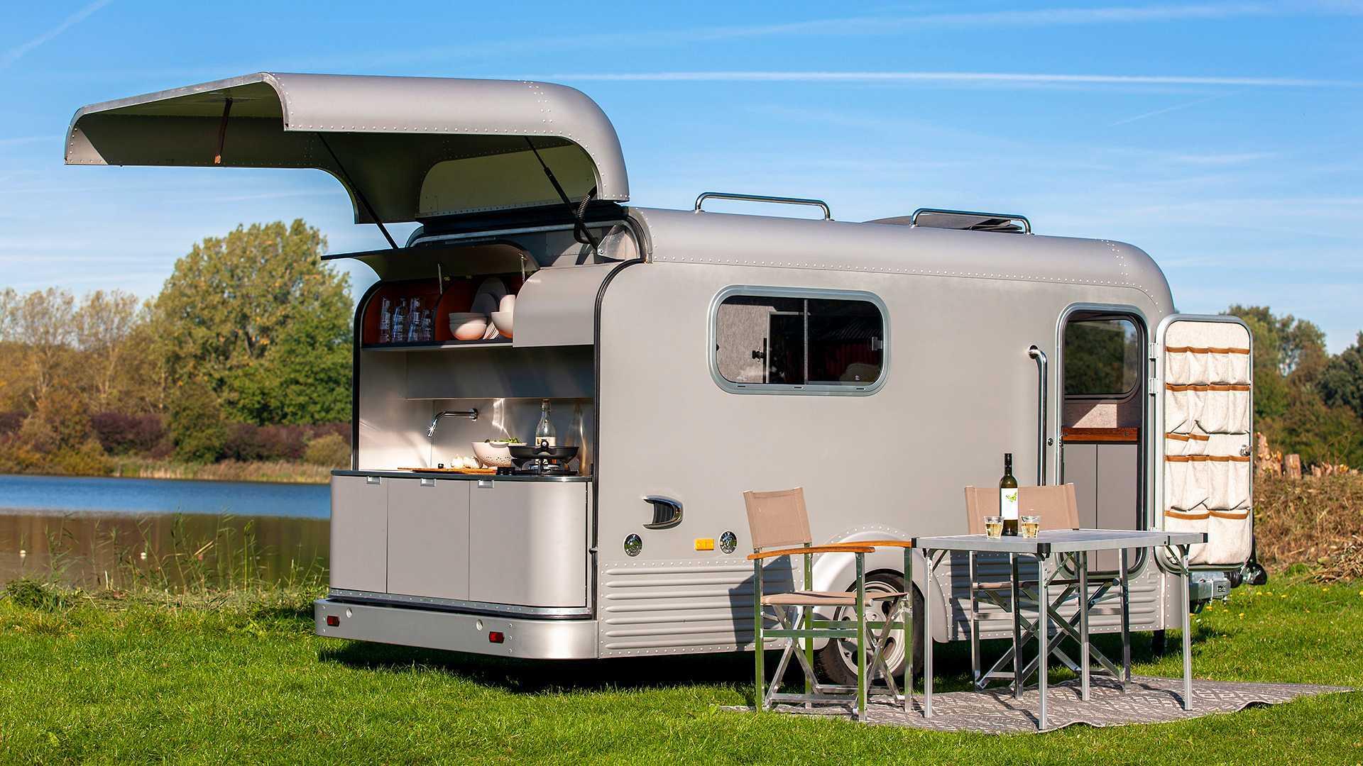 Wohnwagen Mit Außenküche : Die kultigsten offroad wohnwagen u camperstyle