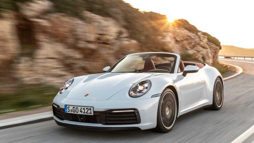 Porsche 911 Cabriolet tecnología capota