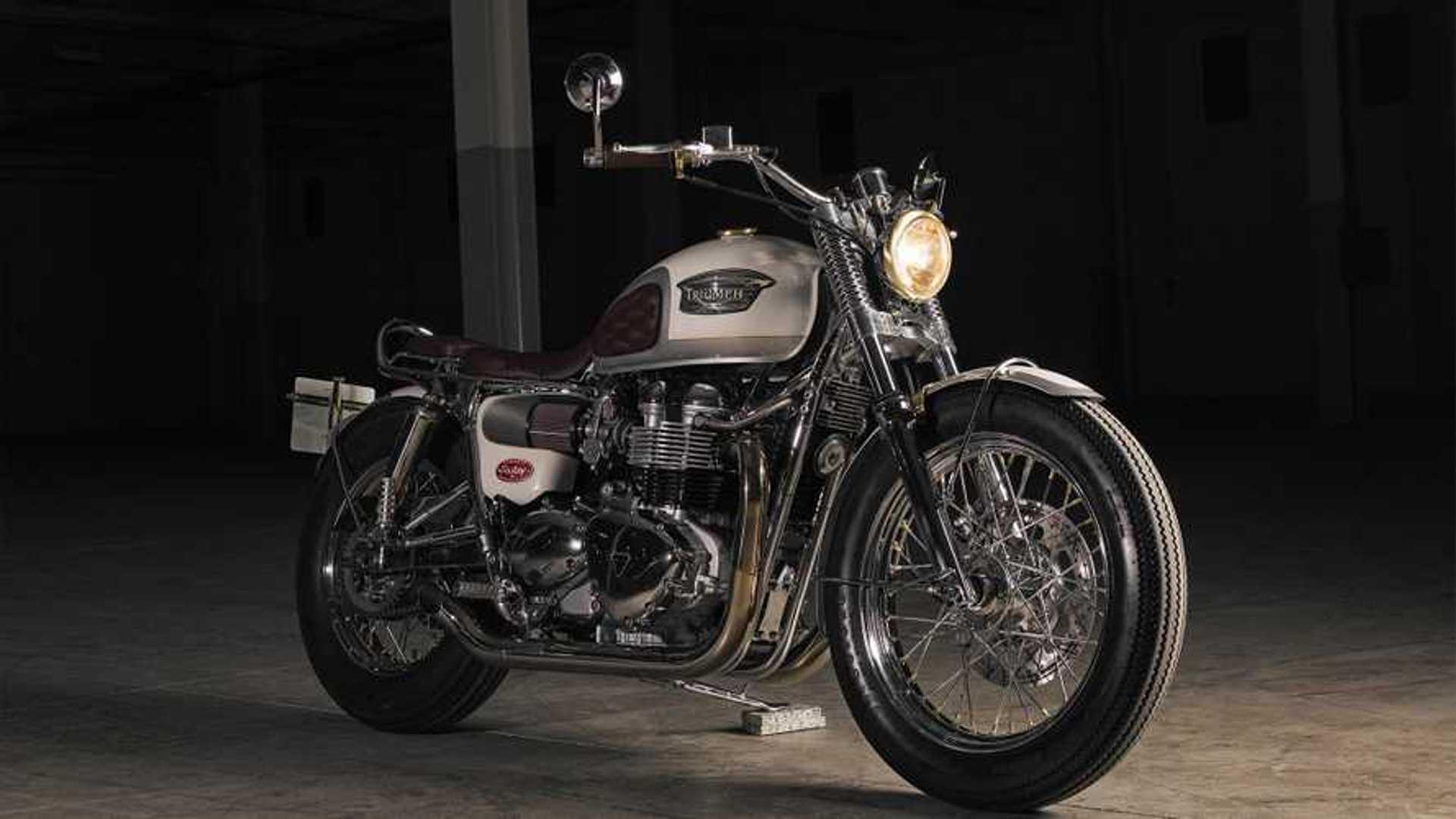 Check Out This Gorgeous Custom Bonneville