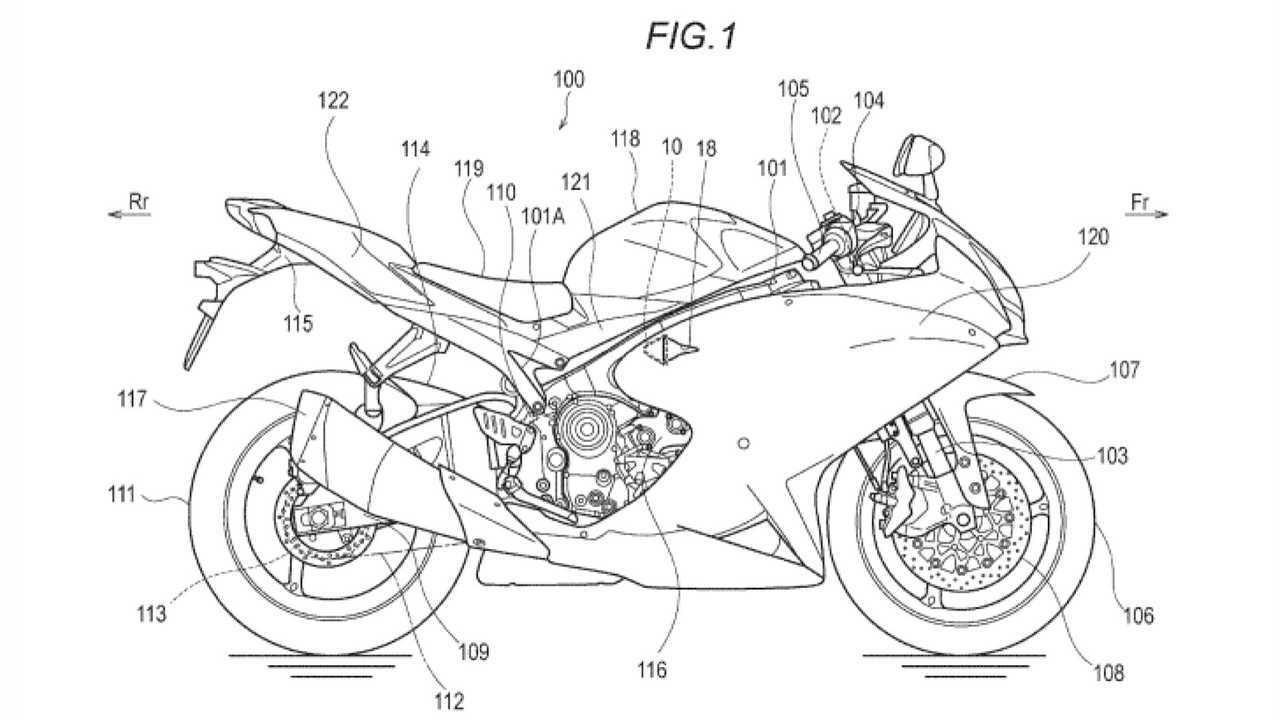 Possible Hayabusa Patent Diagram