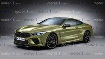 2019 BMW M8 Render