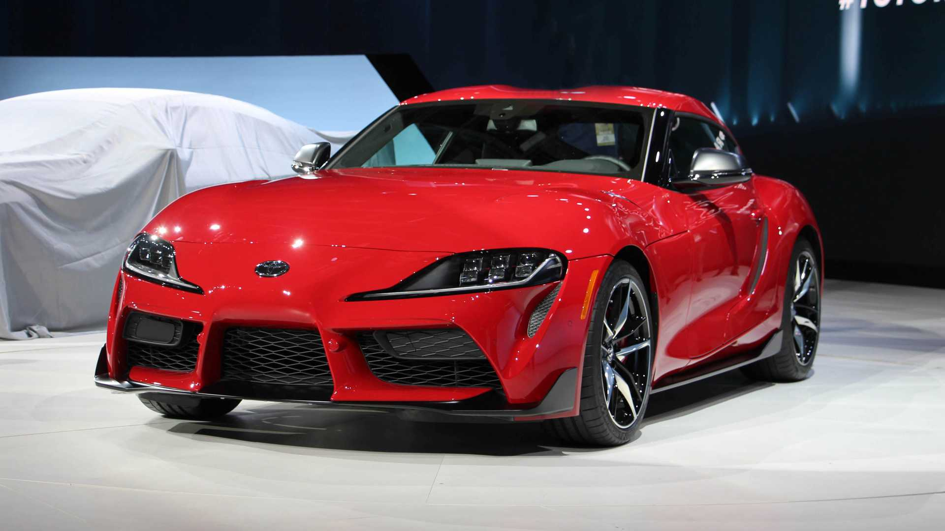 2020 Toyota Supra Live From The Detroit Auto Show