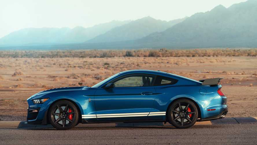 2020 Mustang Shelby GT500 Weighs 'Approximately' 4,225 Pounds [UPDATE]