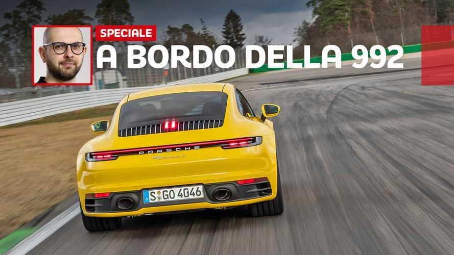 Siamo saliti sulla nuova Porsche 911: la più tecnologica di sempre