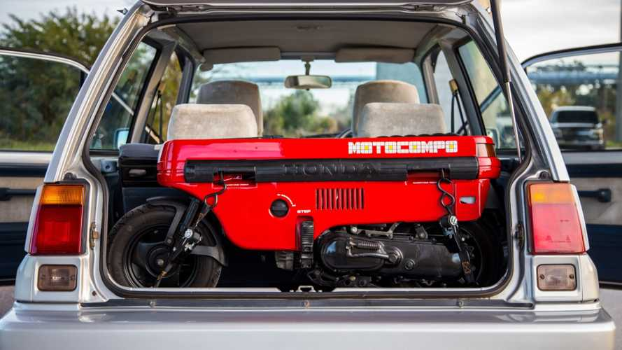 You Can Buy This Honda Motocompo With Matching City Turbo II