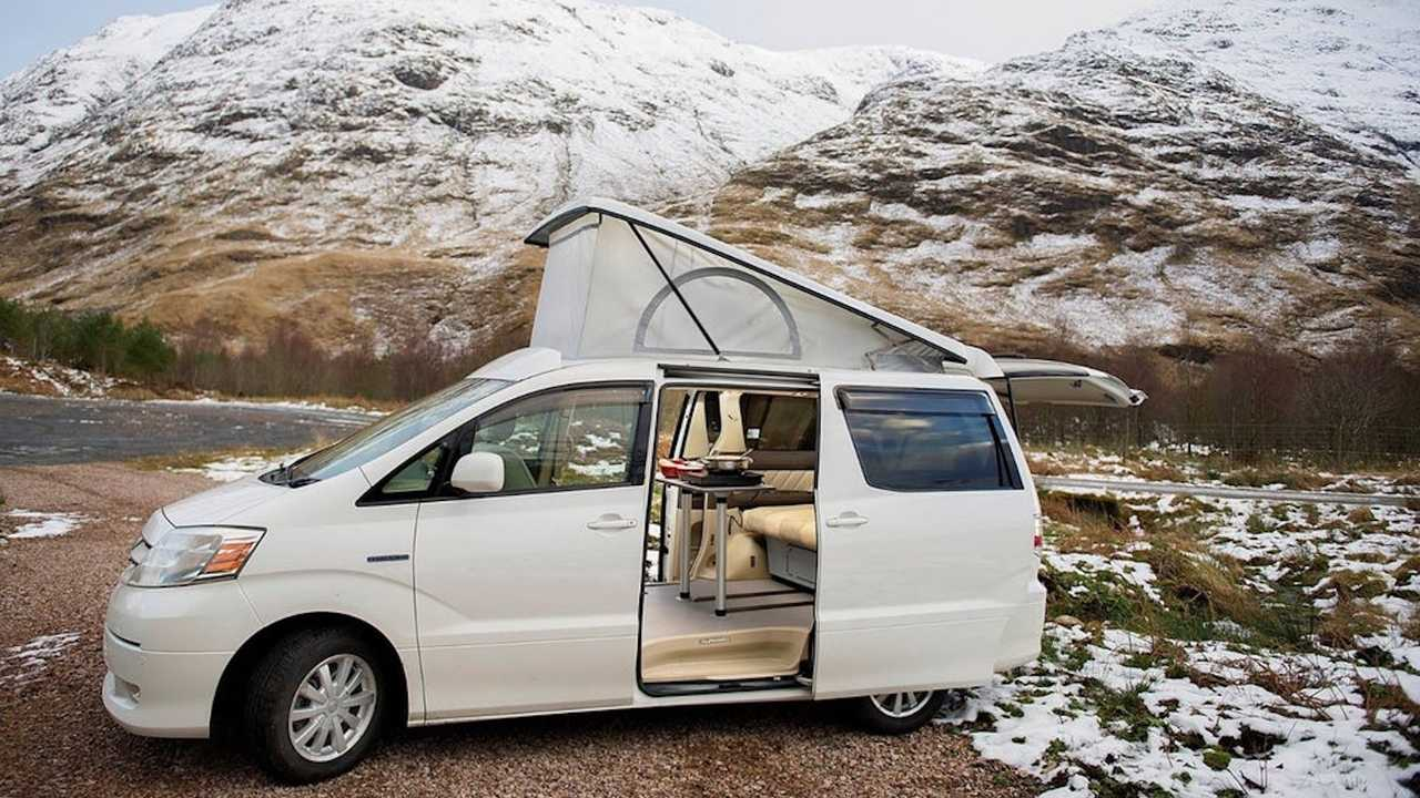 Campers Scotland Hybrid Eco Explorer Camper Van