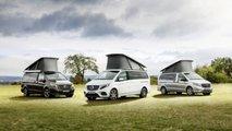 Mercedes-Bens Classe X versioni camper
