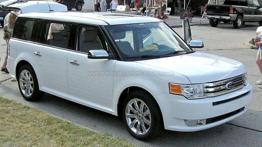 Ford Flex Spy Photos