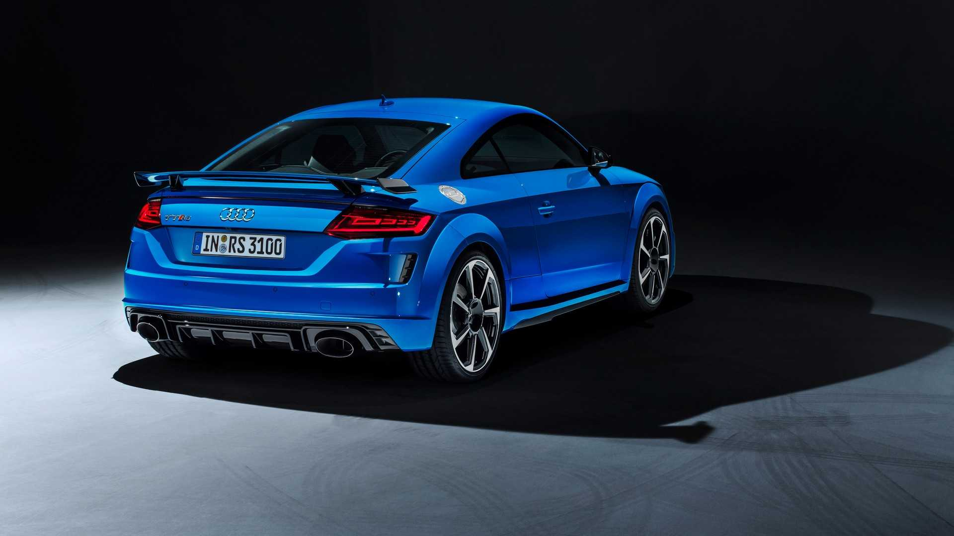 Audi Tt Rs >> 2019 Audi Tt Rs Coupe Roadster Unveiled With Sharper Design