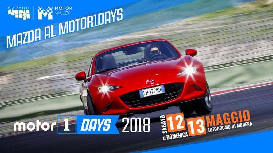 Motor1Days 2018, Mazda in pista... e in fuoristrada