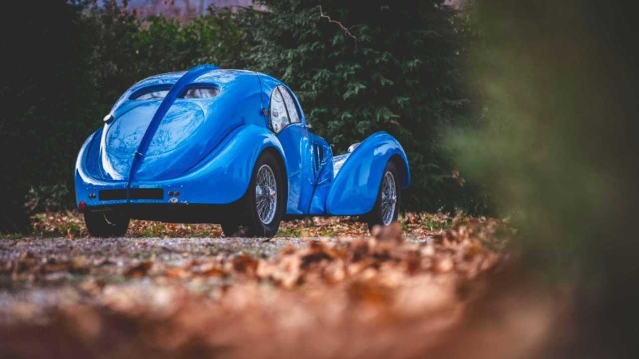 Bugatti Type 57 Atlantic réplica