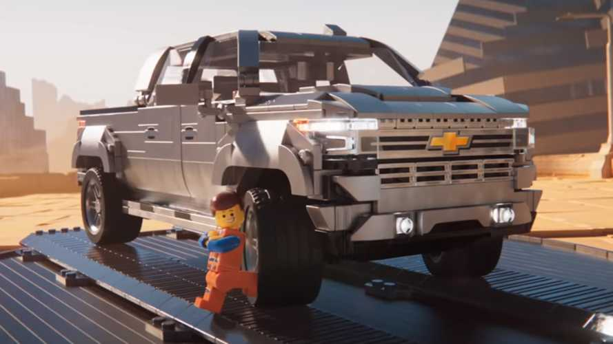 Chevy Silverado Gets Bricked In Cheeky Lego Movie 2 Ad