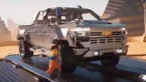 Chevrolet Silverado aus Lego wird zum Filmstar