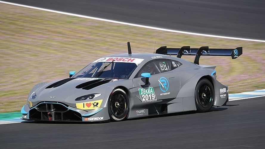 Aston Martin muestra por primera vez su coche para el DTM 2019
