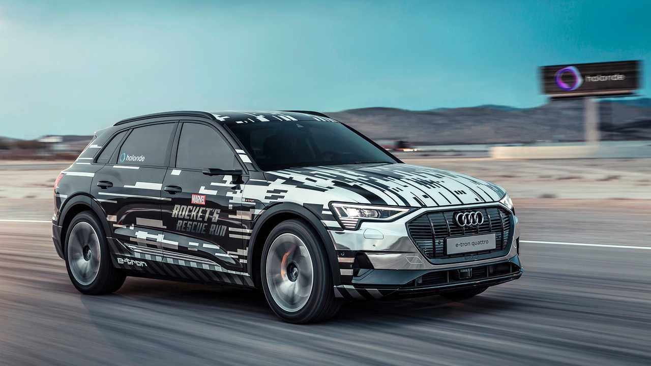 Audi e-tron Marvel's Avengers: Rocket's Rescue Run