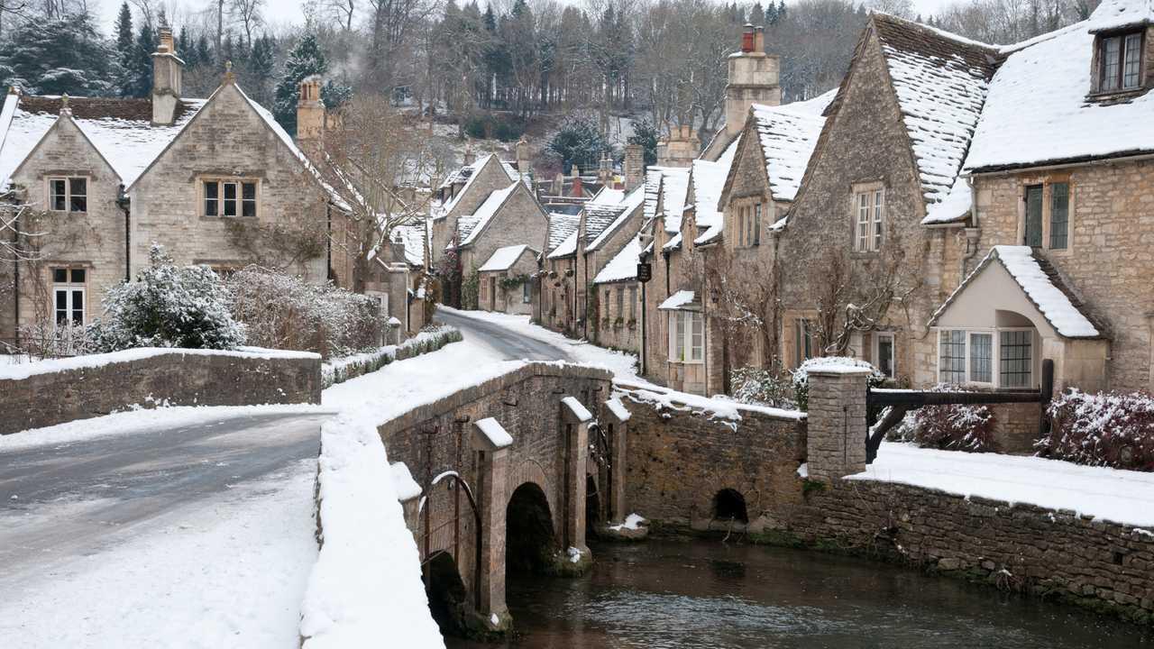 Castle Combe village UK